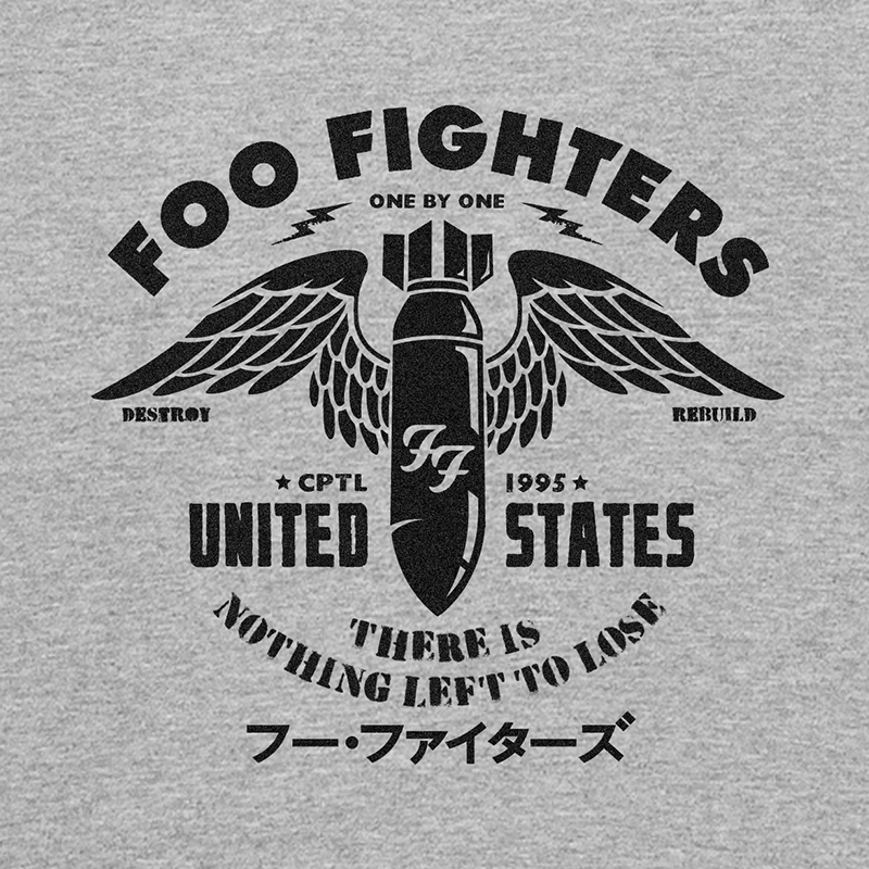 Foo Fighters Bomb Jack Malster