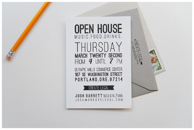 Printable Open House Invitations