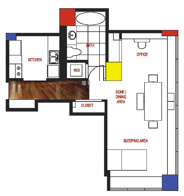 search results bauhaus floor plan. Black Bedroom Furniture Sets. Home Design Ideas