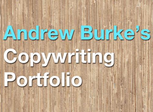 copywriter portfolio